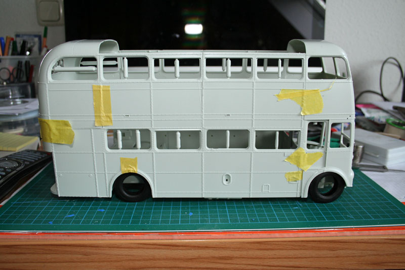 AEC Routemaster RM aka London Bus - On the Workbench: Big Rigs
